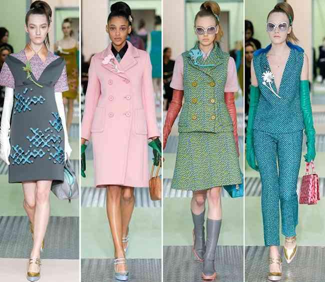 colectia de modă Prada toamnă - iarnă 2015-20163
