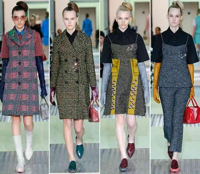 colectia de modă Prada toamnă - iarnă 2015-20164