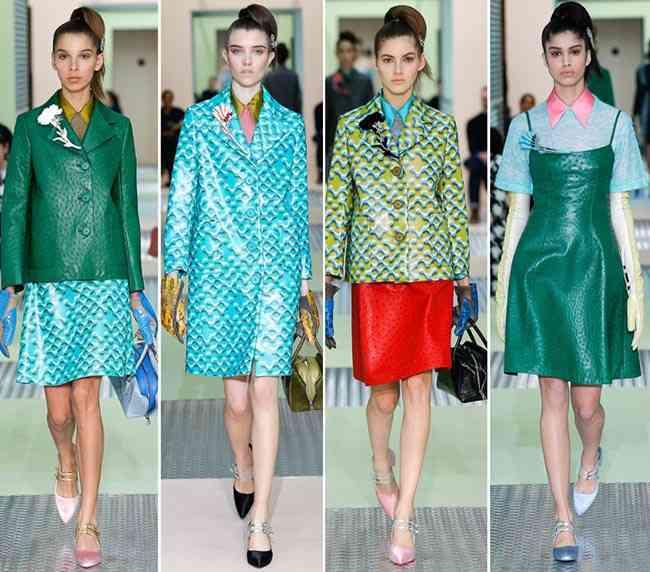 colectia de modă Prada toamnă - iarnă 2015-20165