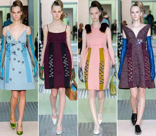 colectia de modă Prada toamnă - iarnă 2015-20166