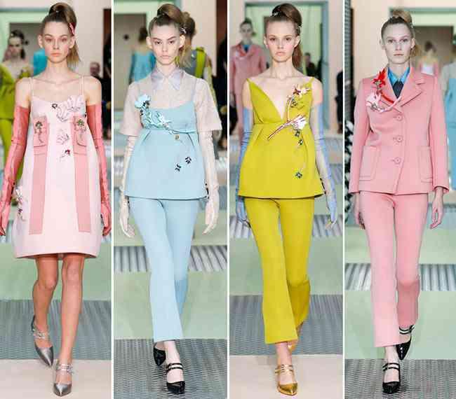 colectia de modă Prada toamnă - iarnă 2015-20167