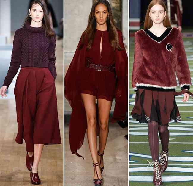 Culori Care Sunt La Modă 238 N Toamna Iarna 2015 2016