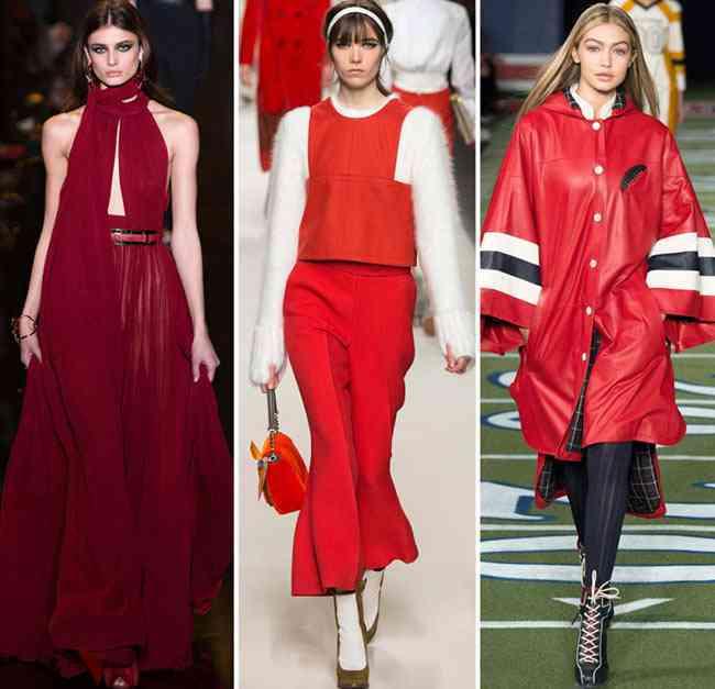 tendinte culori pentru toamna-iarna 2015-2016  rosu