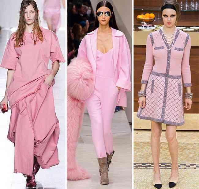 tendinte culori pentru toamna-iarna 2015-2016  roz