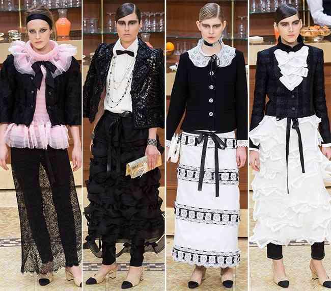 colecția Chanel toamna - iarna 2015-201612