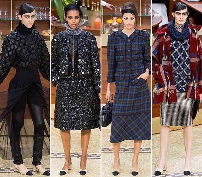 colecția Chanel toamna - iarna 2015-20162