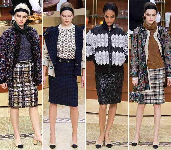 colecția Chanel toamna - iarna 2015-20164