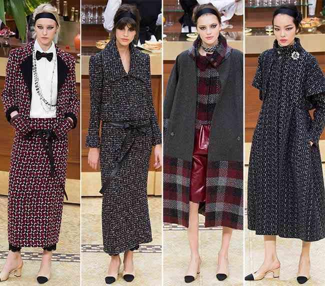colecția Chanel toamna - iarna 2015-20169