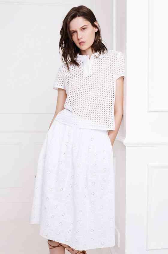 colecția Zara White pentru primăvara 2015 2