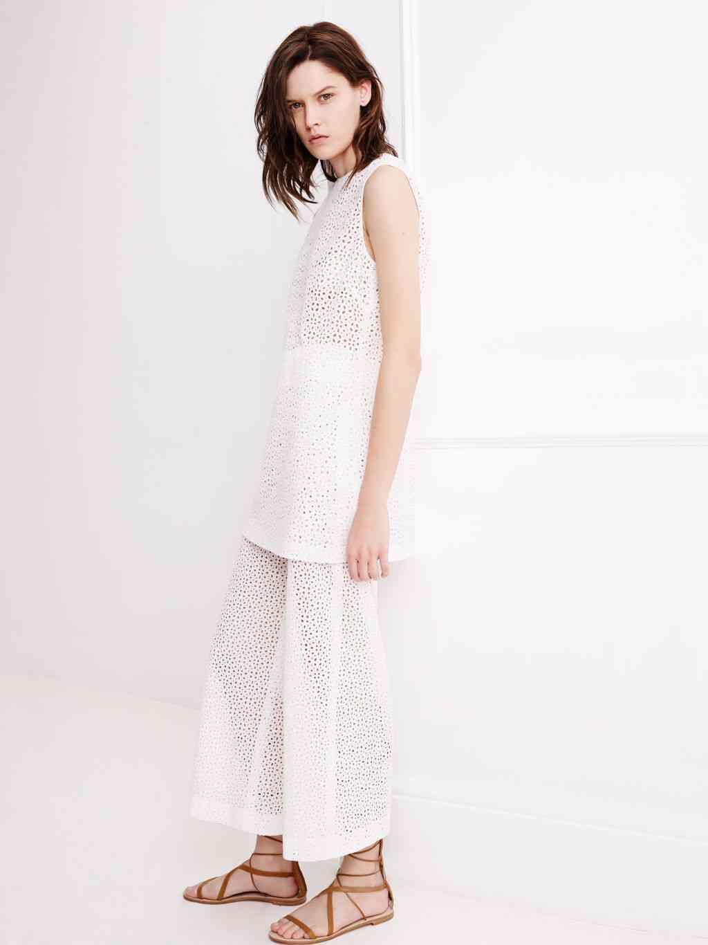 colecția Zara White pentru primăvara 2015 3