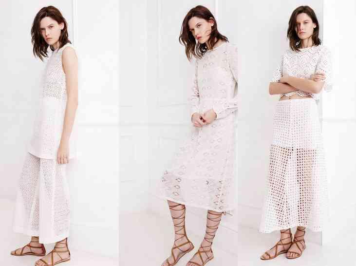 colecția Zara White pentru primăvara 2015 40