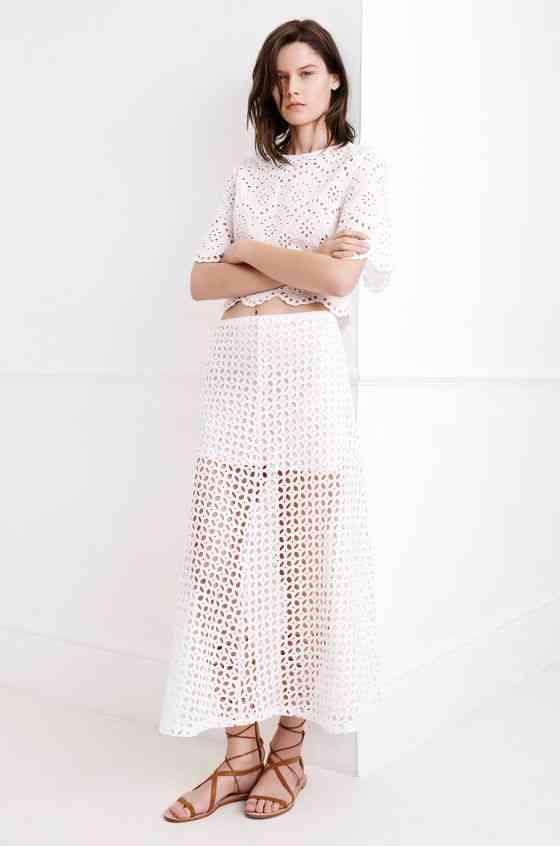 colecția Zara White pentru primăvara 2015 6