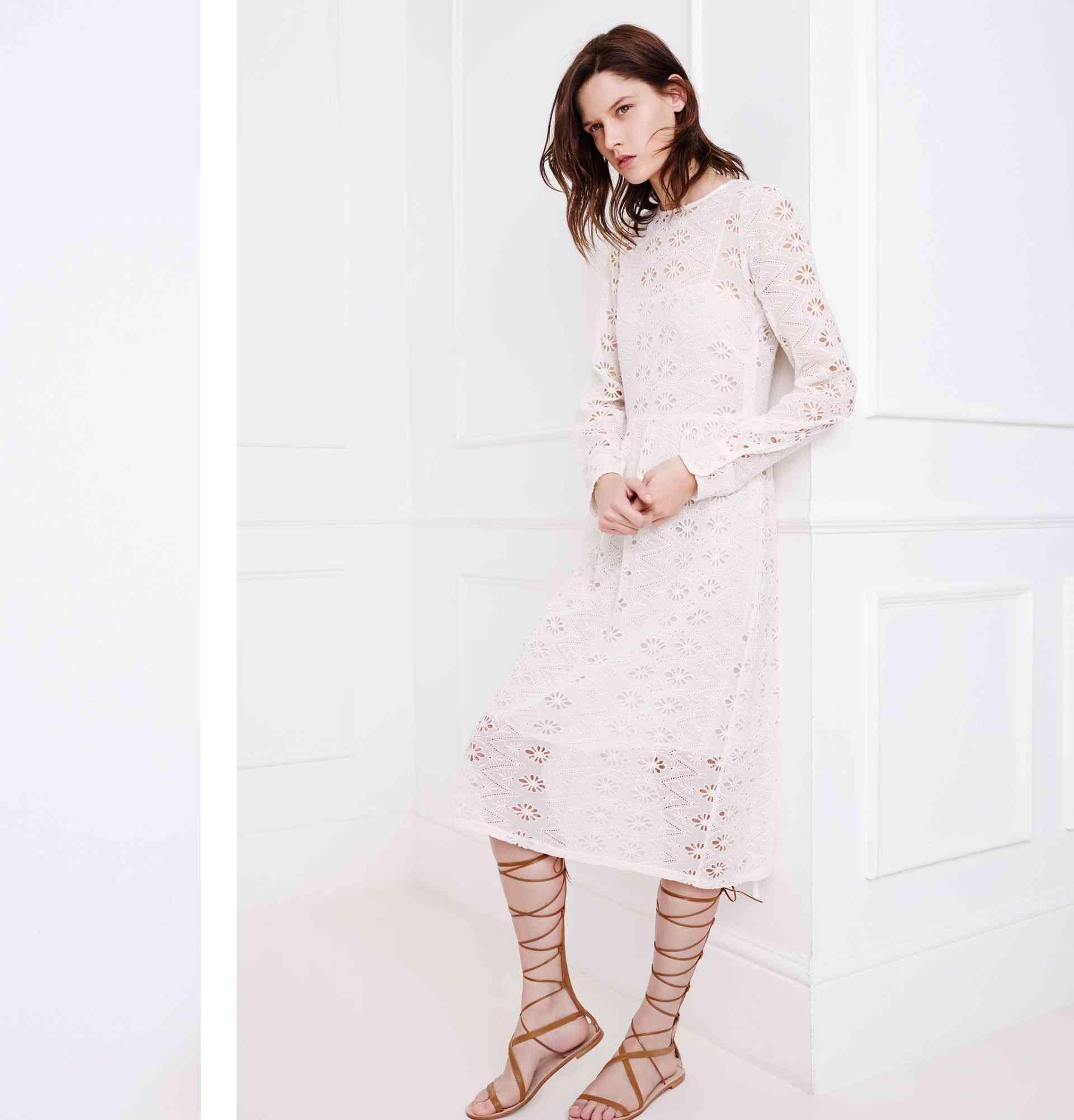 colecția Zara White pentru primăvara 2015 8