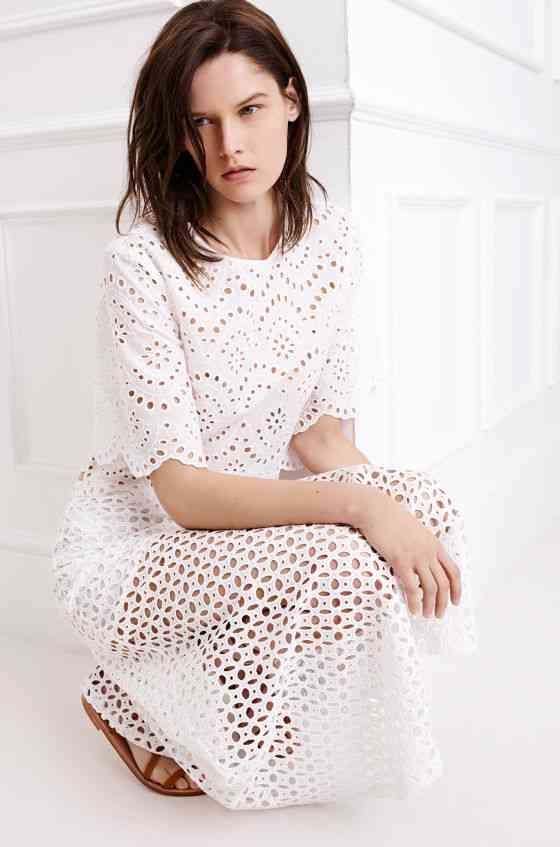 colecția Zara White pentru primăvara 2015